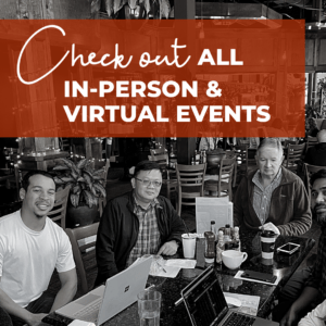 Check out all in-person and virtual events.