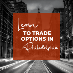 Learn to make monthly income in our options trading chapters. Check us out in Philly!